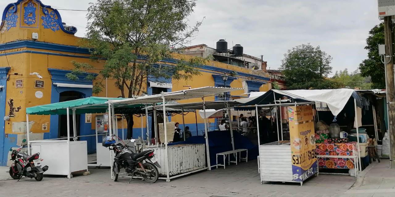 Con aval del cabildo municipal, se instala feria por festividad del Carmen   El Imparcial de Oaxaca