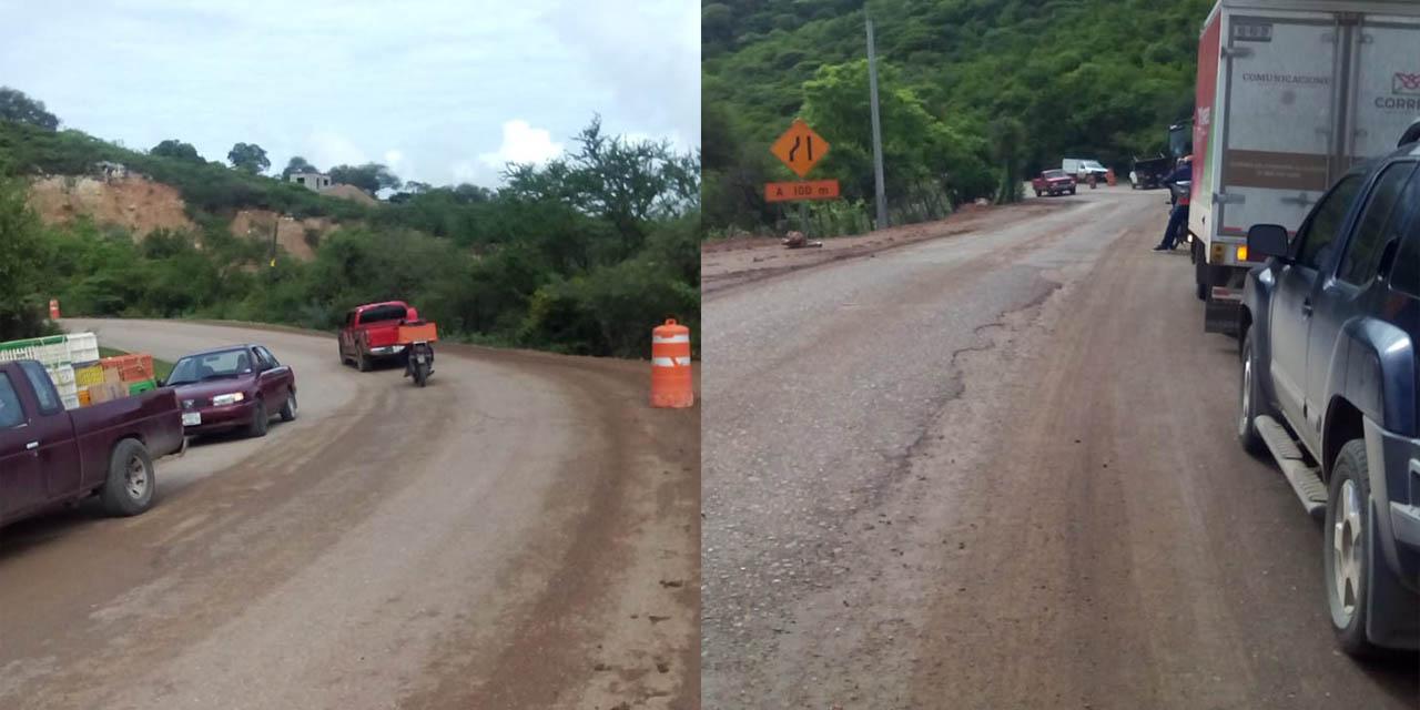 Carretera de la Mixteca, un peligro por falta de señalamientos | El Imparcial de Oaxaca