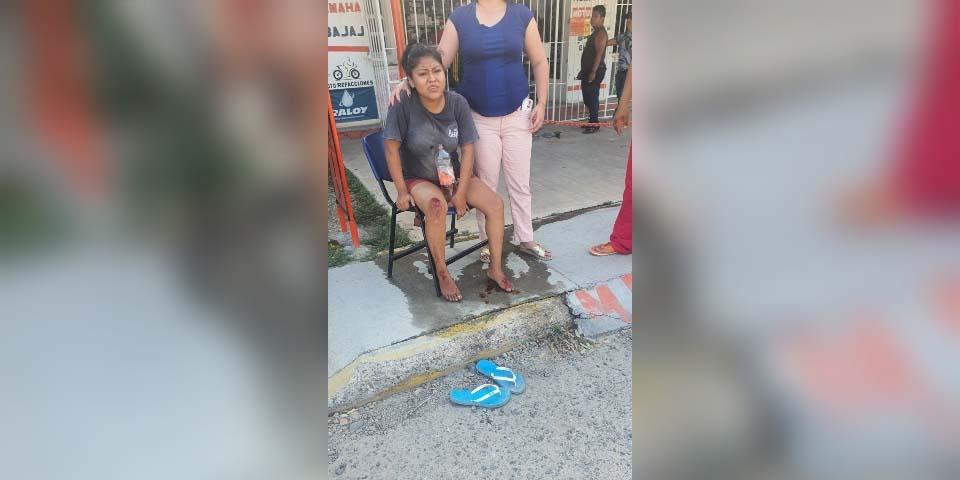 Derrapa motociclista y resulta malherida   El Imparcial de Oaxaca