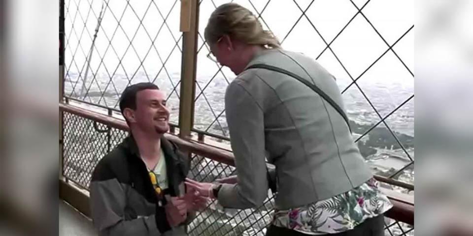 Reapertura de torre Eiffel y joven realiza propuesta de matrimonio   El Imparcial de Oaxaca