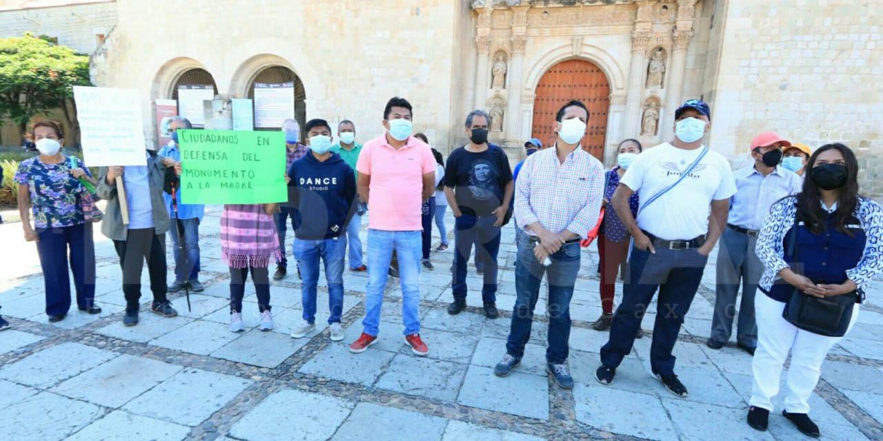 Impedirán ambientalistas privatizar el parque del monumento a la madre | El Imparcial de Oaxaca