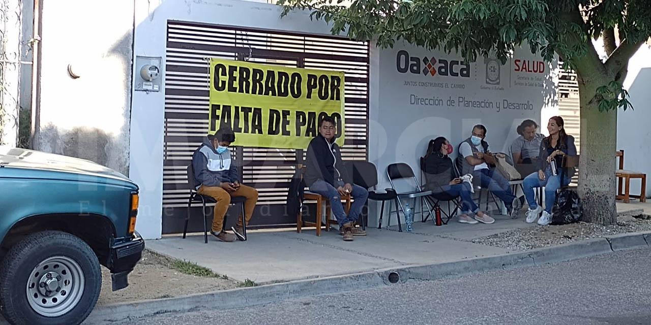 Exigen a la Secretaría de Salud pago de la renta de inmuebles   El Imparcial de Oaxaca