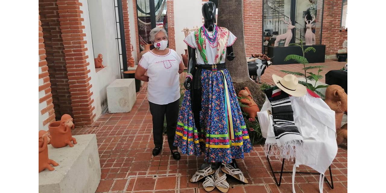 Indumentaria del Jarabe Mixteco se exhibe en tienda ARIPO   El Imparcial de Oaxaca