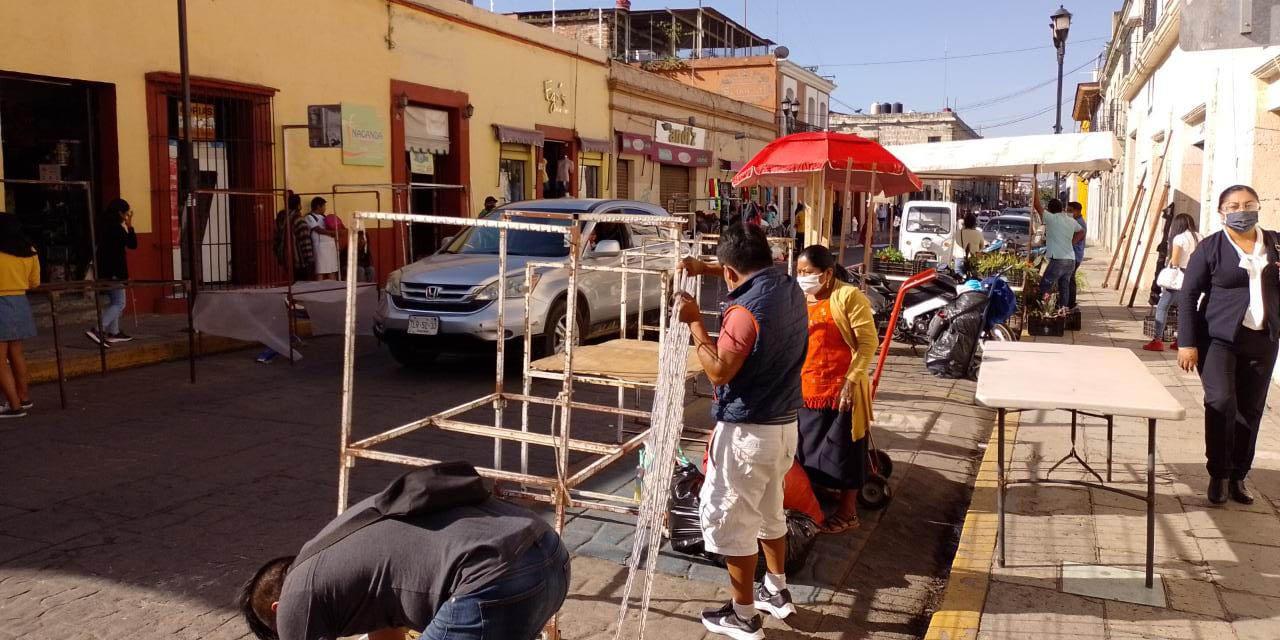 Ambulantes invaden más calles del centro de la ciudad   El Imparcial de Oaxaca