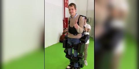 Exoesqueleto invento de manos libres que devuelve la movilidad a personas con discapacidad   El Imparcial de Oaxaca