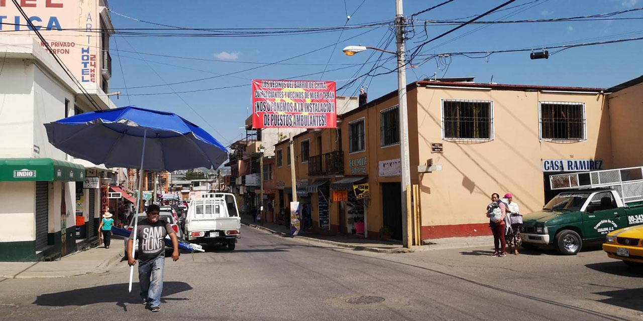 Rechazan instalación de ambulantes en el Barrio de la China | El Imparcial de Oaxaca