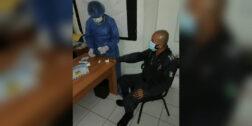 Realizan pruebas de Covid a los policías de SC