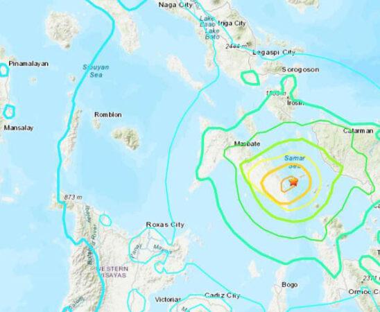 Filipinas se sacude, reportan sismo de magnitud 6.7; descartan tsunami