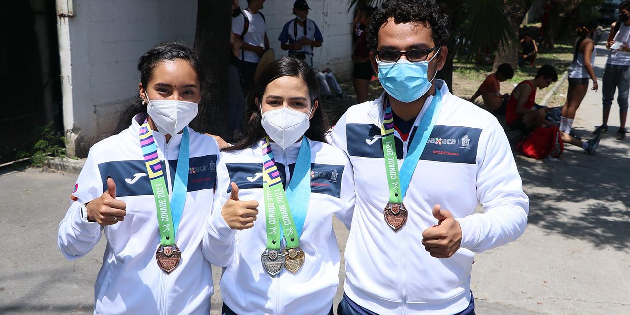 Atletismo entrega siete medallas  en Nacionales de Conade | El Imparcial de Oaxaca