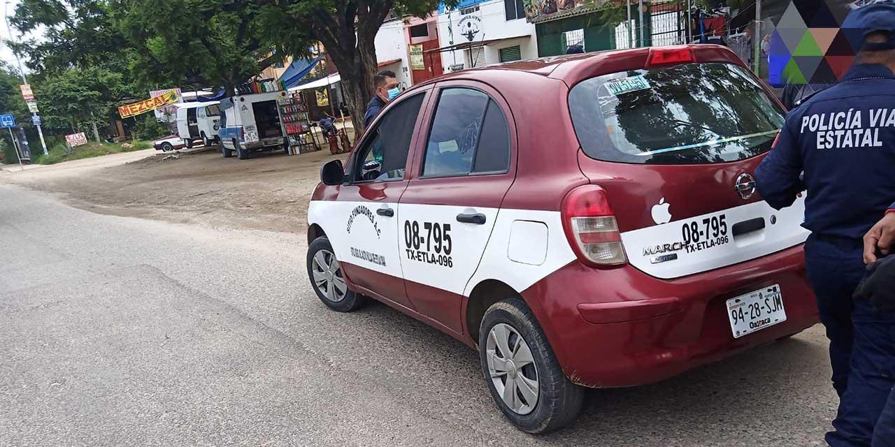 Asaltaban a bordo de taxi, fueron detenidos