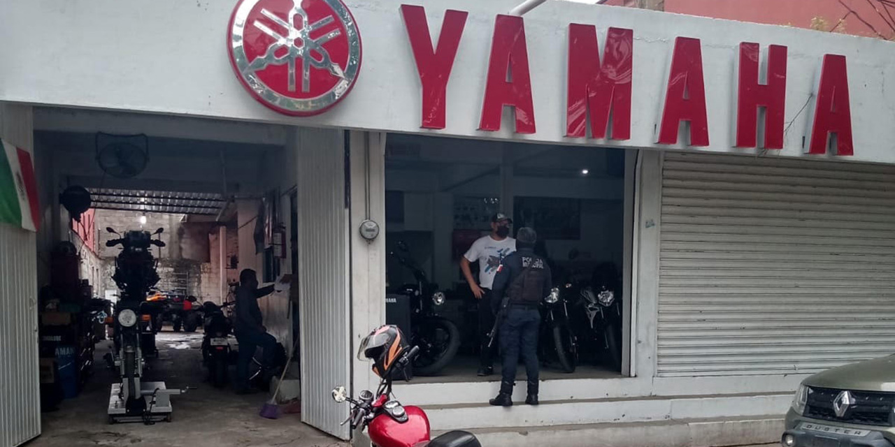 Roban a empresa de motos Yamaha | El Imparcial de Oaxaca