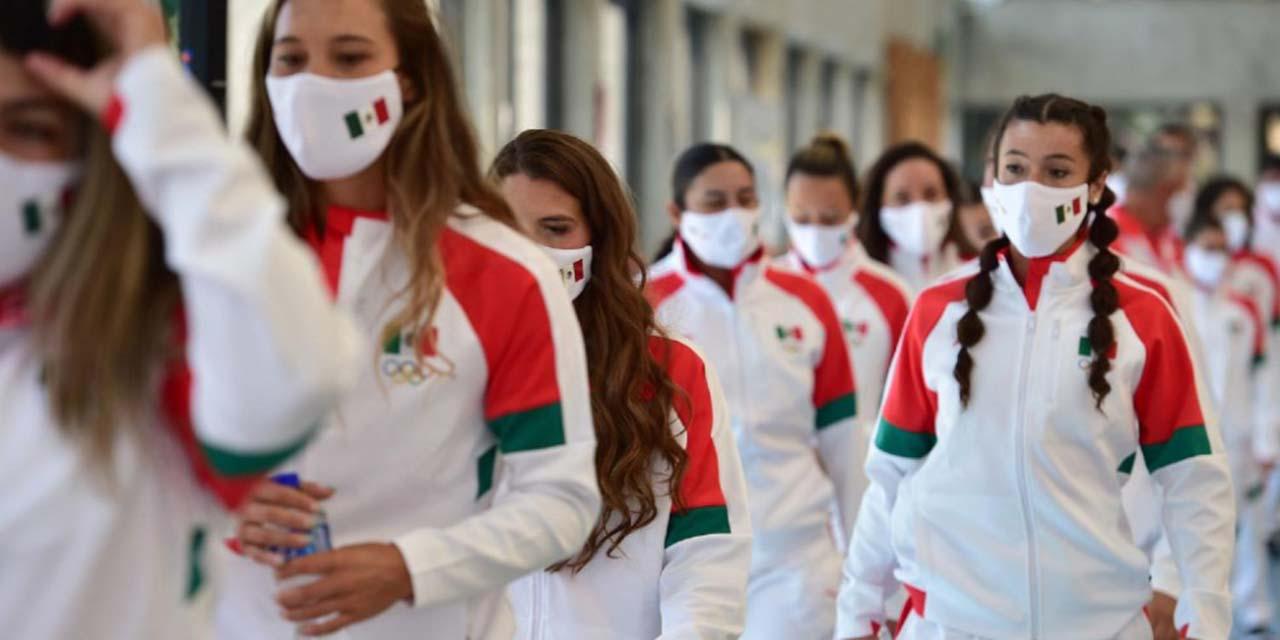 AMLO desea éxito a deportistas mexicanos que participarán en Juegos Olímpicos de Tokio | El Imparcial de Oaxaca
