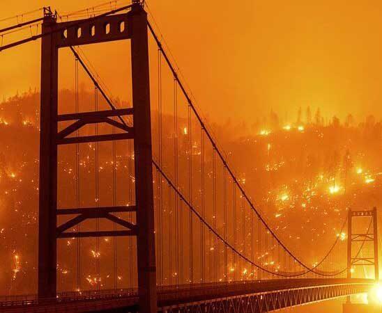 'Dixie Fire': el incendio en California ya generó su propio clima