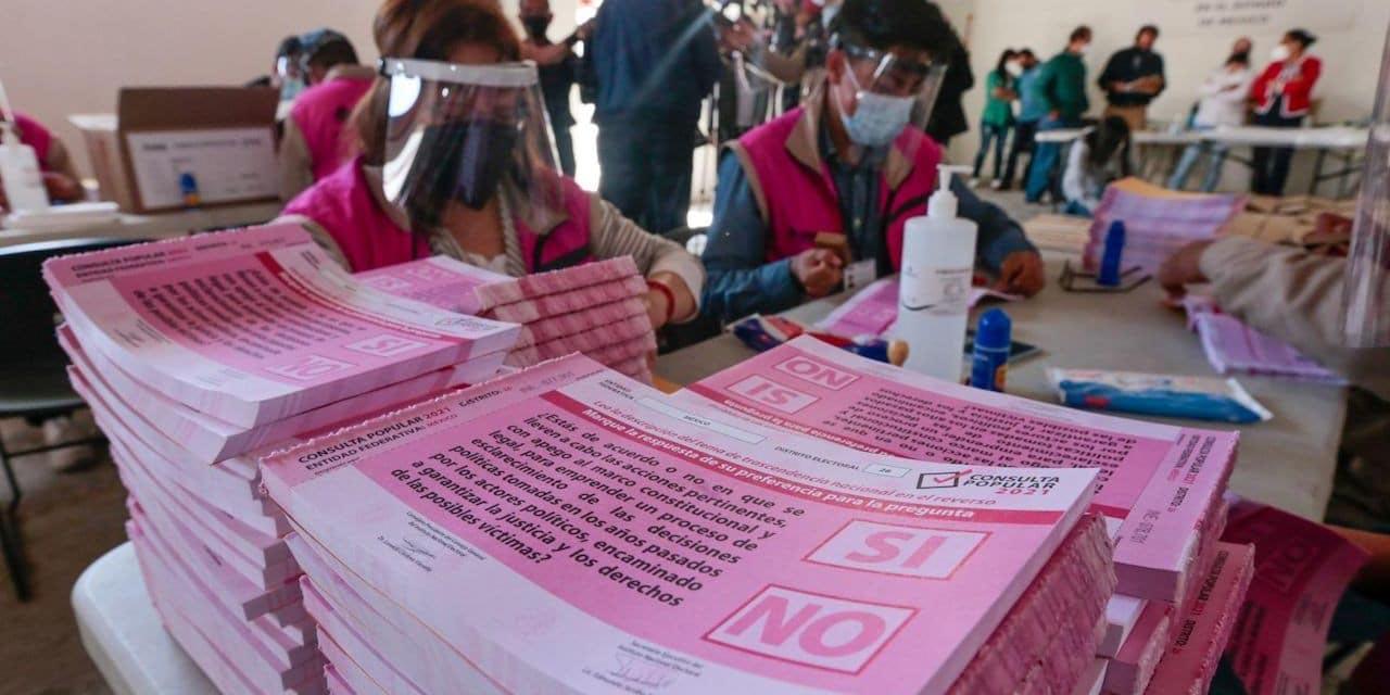 INE afirma que sistema para ubicar mesa de votación en Consulta Popular no falló   El Imparcial de Oaxaca
