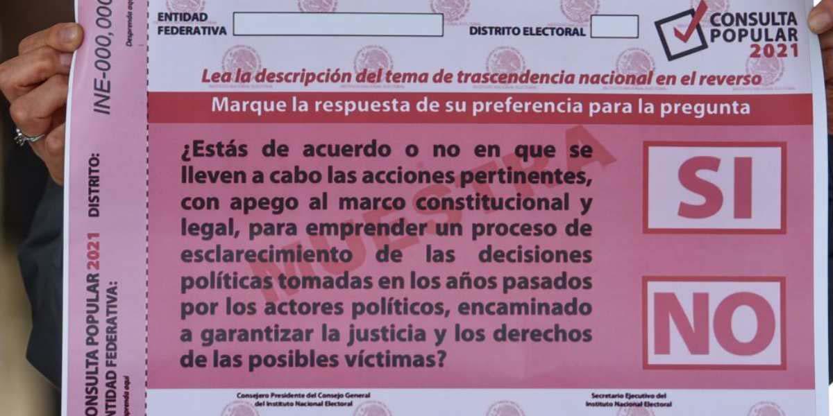 Conteo rápido para Consulta Popular es aprobado por el INE   El Imparcial de Oaxaca