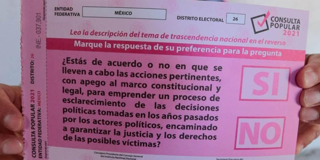 La noche del domingo será posible revisar los resultados de consulta ciudadana: INE   El Imparcial de Oaxaca