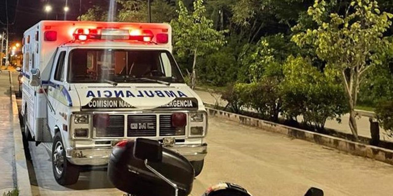 Chocan taxi y motociclista en Huajuapan | El Imparcial de Oaxaca