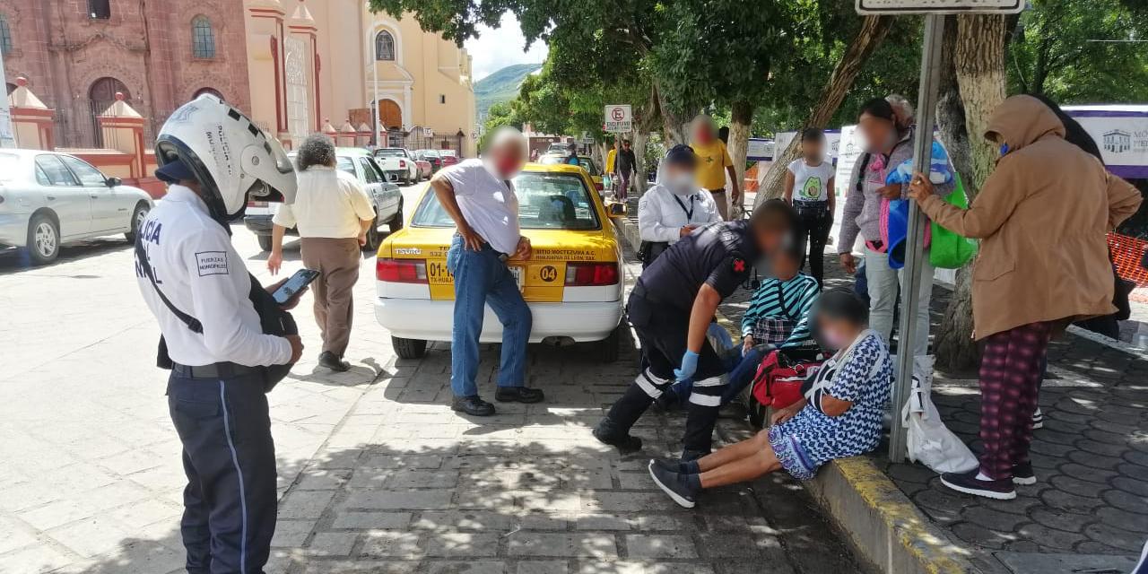 Taxista atropella a dos mujeres en Huajuapan   El Imparcial de Oaxaca