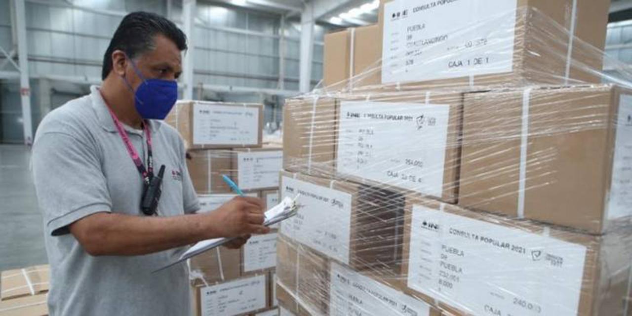 Llega la papelería electoral para la consulta popular | El Imparcial de Oaxaca