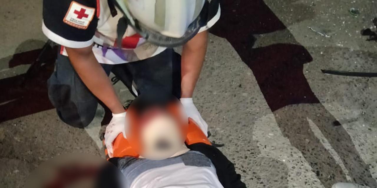 Se estrella contra taxi en Huajuapan   El Imparcial de Oaxaca