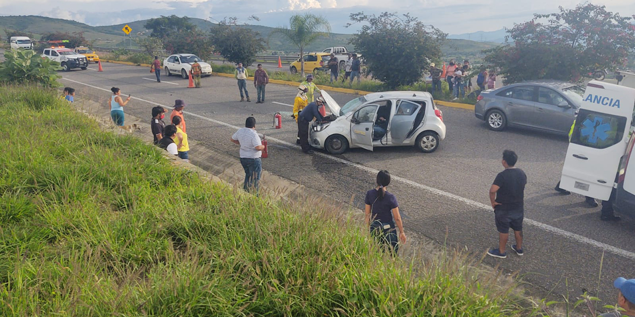 Vuelca en la Cuesta a Ocotlán | El Imparcial de Oaxaca