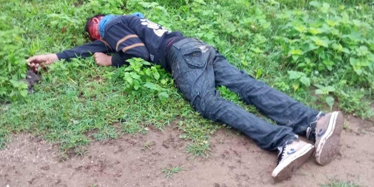 Lo ejecutan a balazos y lo arrojan a terreno | El Imparcial de Oaxaca