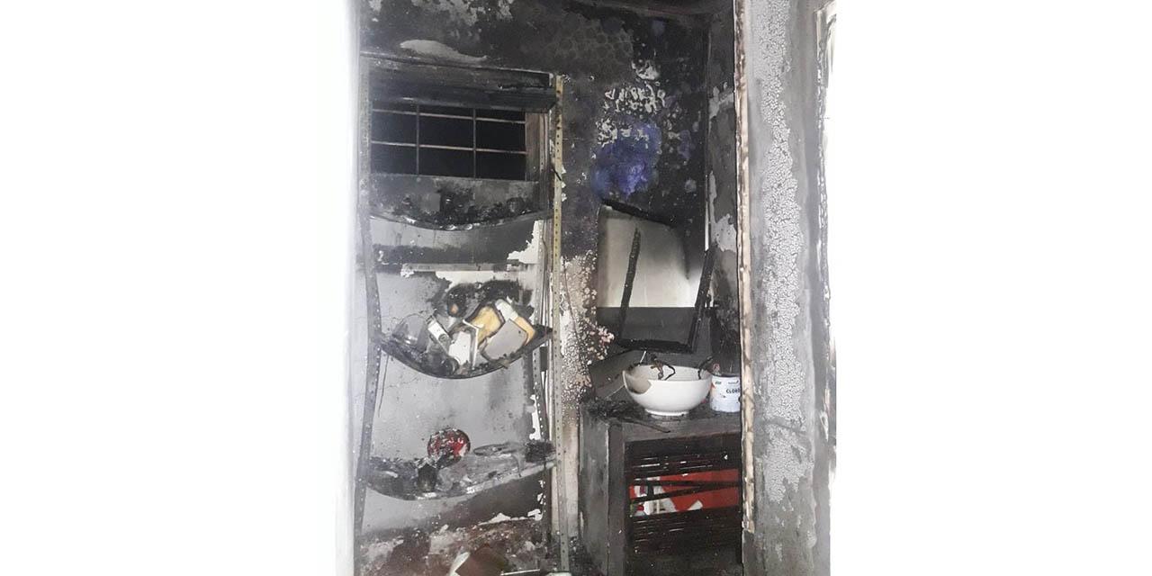 Se quema barbería en Pueblo Nuevo   El Imparcial de Oaxaca