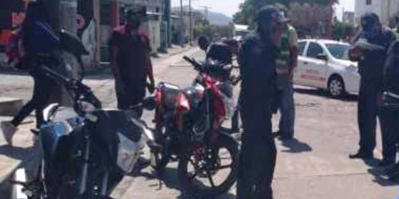 Motociclista derrapa en Huajuapan y termina lesionado | El Imparcial de Oaxaca