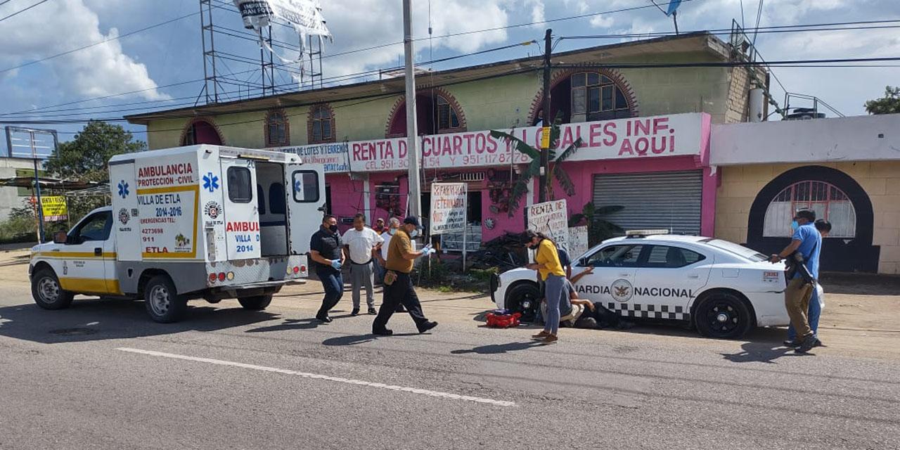Dudas sobre la muerte de Guardia Nacional | El Imparcial de Oaxaca