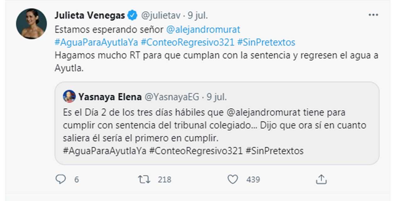 Maria Elena y Venegas exigen reconexión en Ayutla, Mixes | El Imparcial de Oaxaca