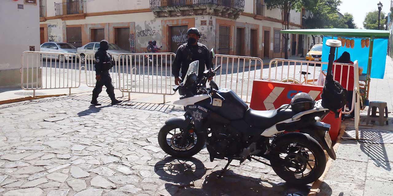 Tras amenaza de ferieros, instalan vallas   El Imparcial de Oaxaca