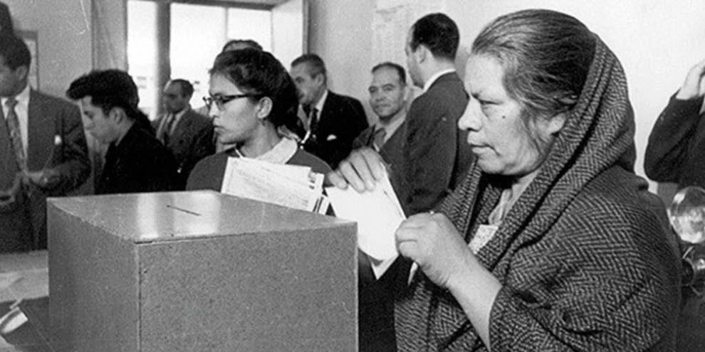 Un día como hoy, pero de hace 56 años, las mujeres votaron por primera vez   El Imparcial de Oaxaca