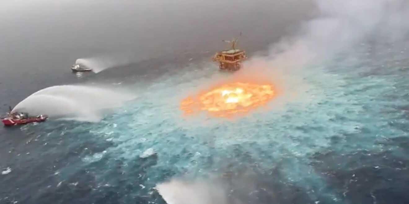 ONG exige que se investigue y castigue por incendio en el Golfo de México | El Imparcial de Oaxaca