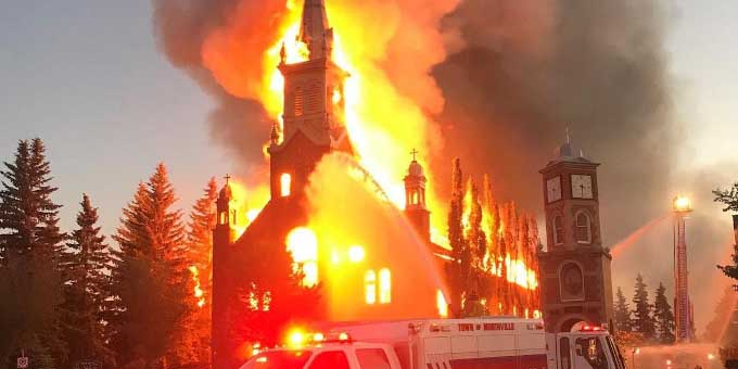 Trudeau reprueba vandalismo en iglesias y en estatuas de monarcas en Canadá | El Imparcial de Oaxaca
