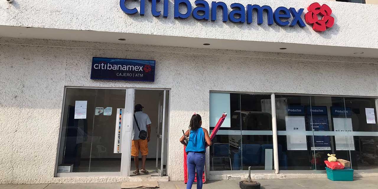 Cierran banco en Pinotepa por la pandemia de Covid-19 | El Imparcial de Oaxaca