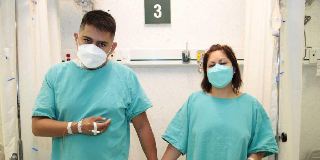 Marco recibe riñón de su esposa, la operación fue un éxito en hospital del IMSS | El Imparcial de Oaxaca