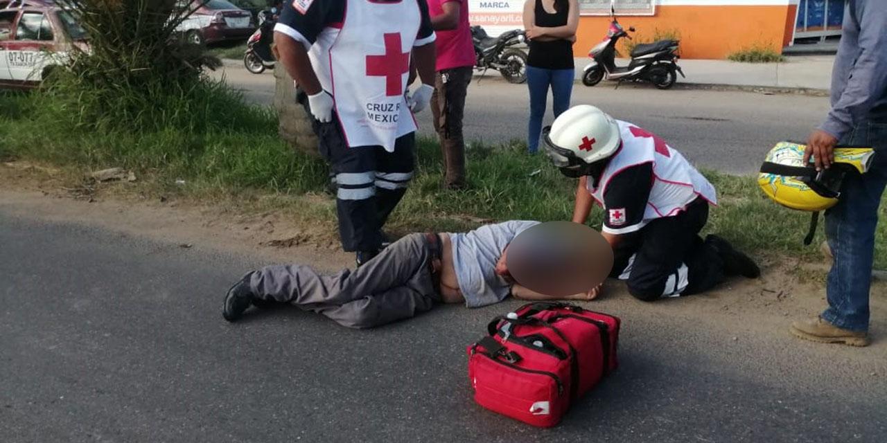 Arrollan brutalmente a un peatón en Símbolos Patrios | El Imparcial de Oaxaca