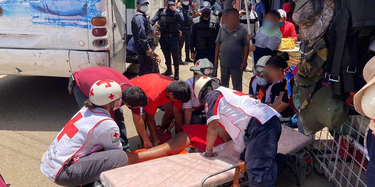 Urbanero atropella a mujer en el Periférico de Oaxaca | El Imparcial de Oaxaca