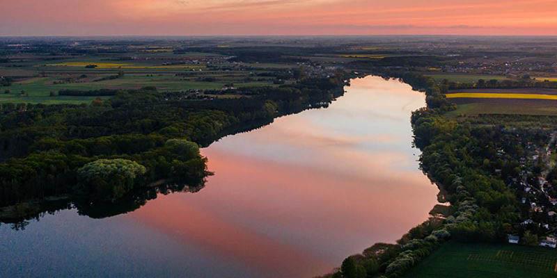 Laguna en Argentina se tiñe de color rosa por contaminación | El Imparcial de Oaxaca
