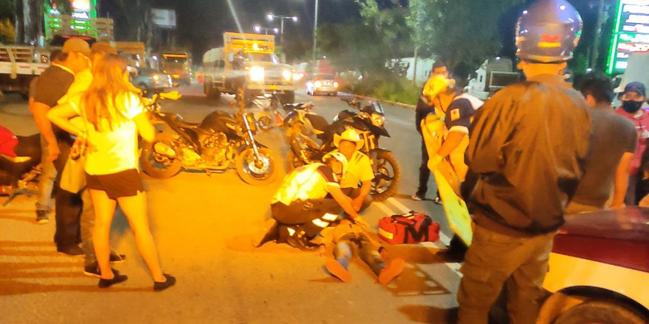 Taxista arrolla a hermanos en Pueblo Nuevo   El Imparcial de Oaxaca