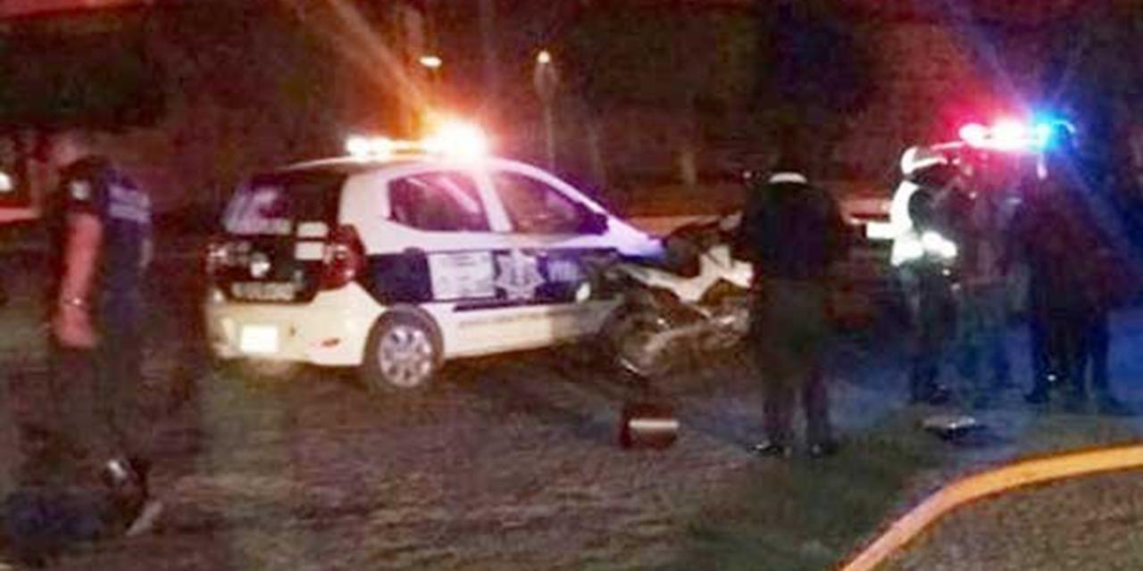 Choca automovilista contra motociclista en Huajuapan | El Imparcial de Oaxaca