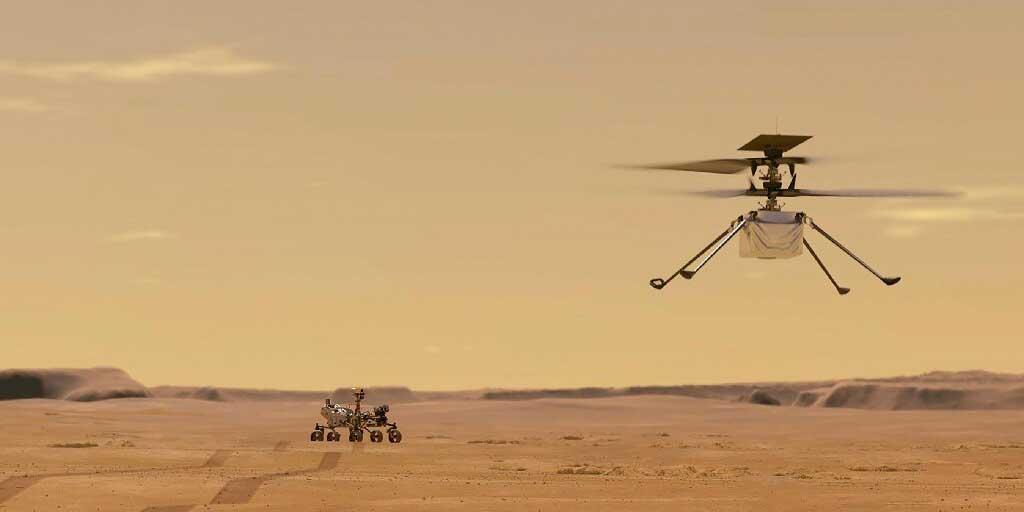 Ingenuity supera vuelo a través de terreno hostil en Marte | El Imparcial de Oaxaca