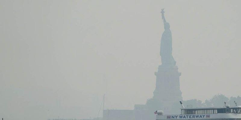Contaminación provocada por incendios alerta a la ciudad de New York | El Imparcial de Oaxaca