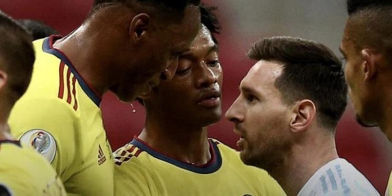 Yerry Mina habla sobre su cruce con Lionel Messi en la Copa América | El Imparcial de Oaxaca