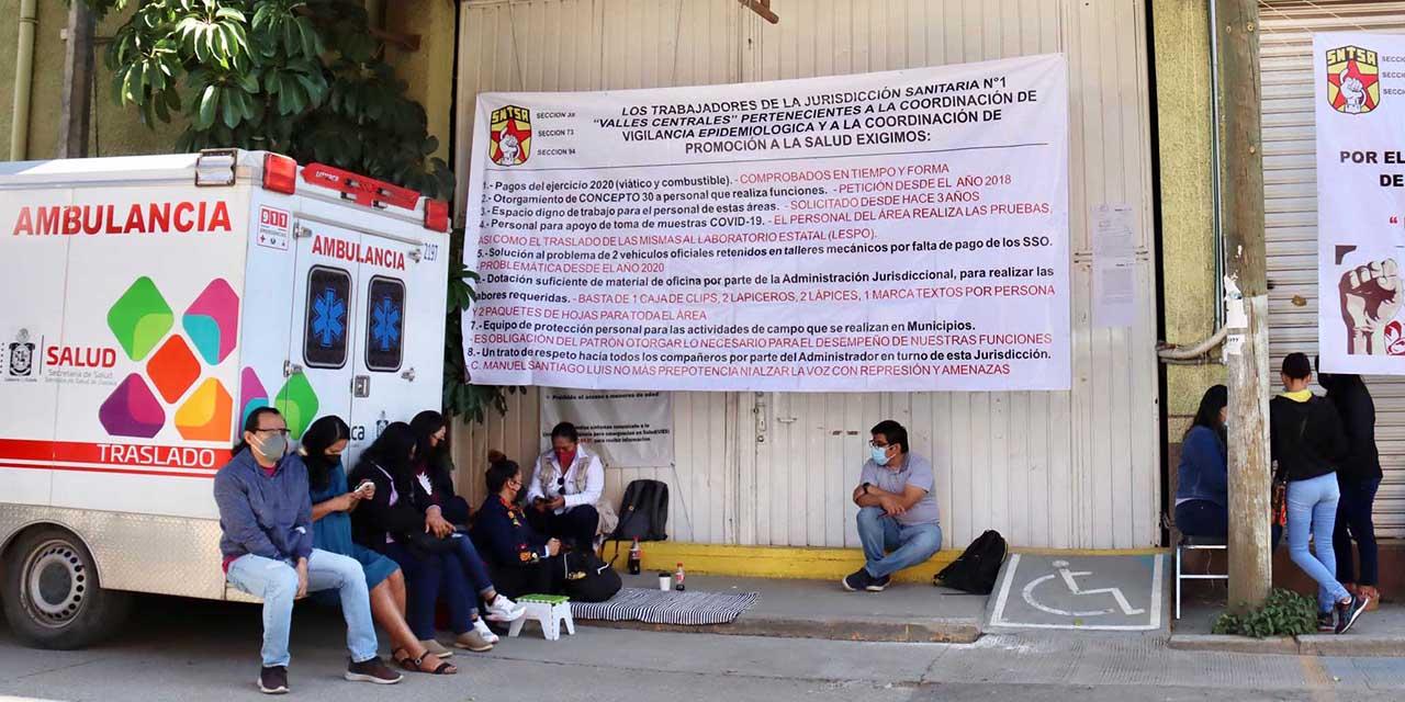 Escala crisis en salud en Oaxaca; se multiplican protestas   El Imparcial de Oaxaca