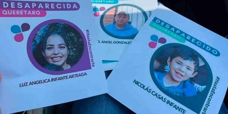 Madre e hijo llevan 27 días desaparecidos en Querétaro, empiezan cateos de búsqueda   El Imparcial de Oaxaca
