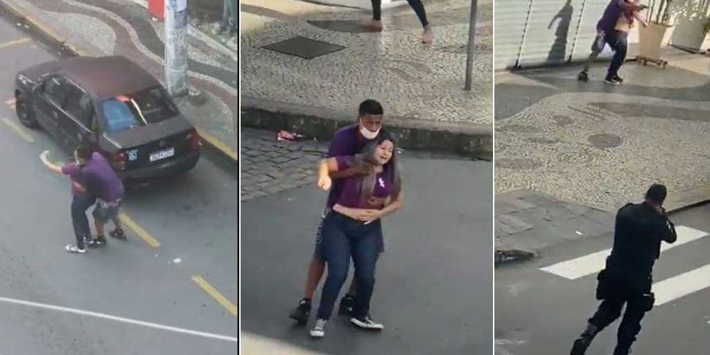 Policías abaten a ladrón que tomó de rehén a una mujer en plena calle | El Imparcial de Oaxaca