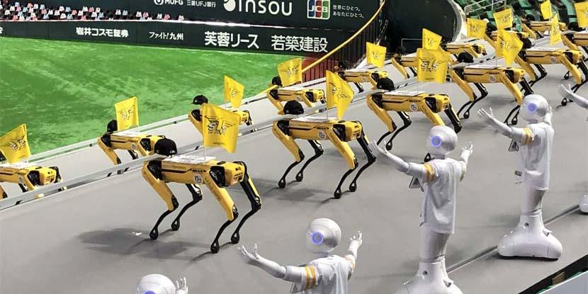 Pepper y Spot, robots que sustituirán a los espectadores en los JO de Tokio 2021 | El Imparcial de Oaxaca
