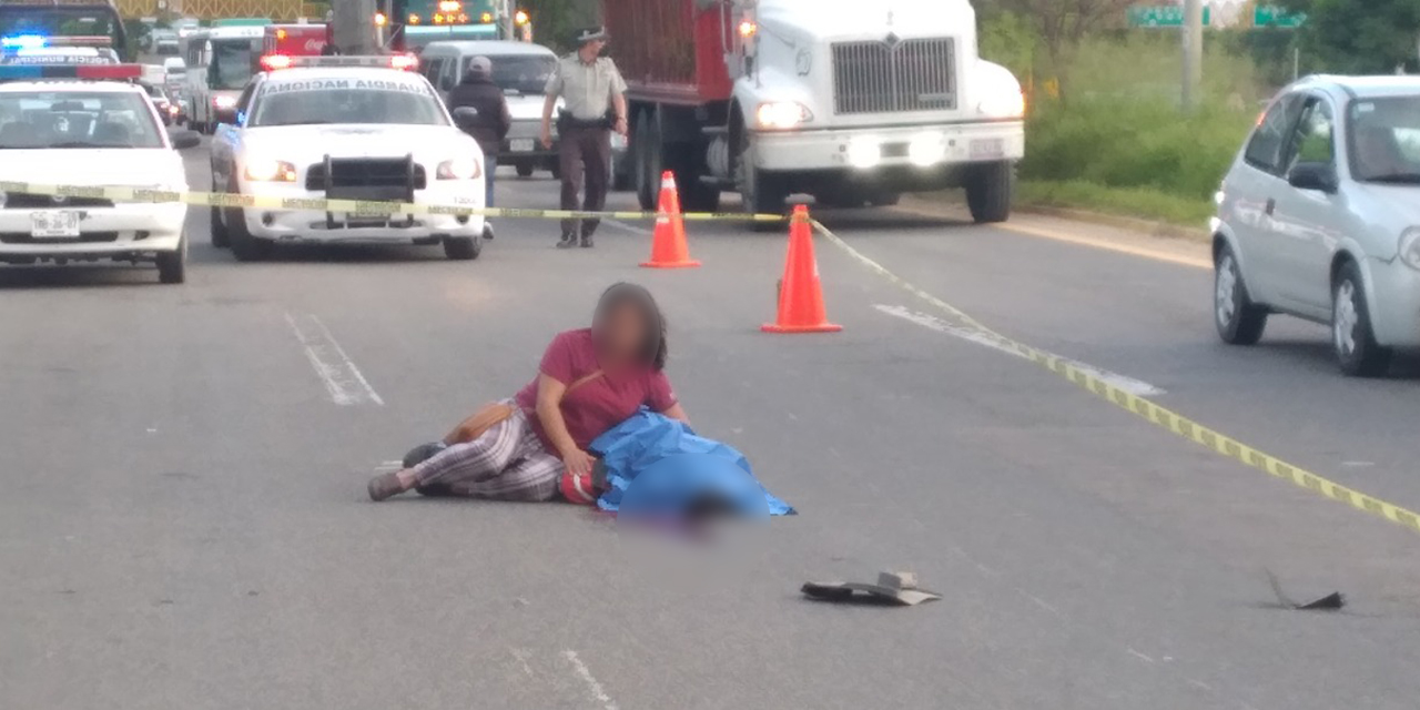¡Cita con la muerte!, motociclista muere tras derrapar frente al Seminario Pontificio de la Santa Cruz   El Imparcial de Oaxaca