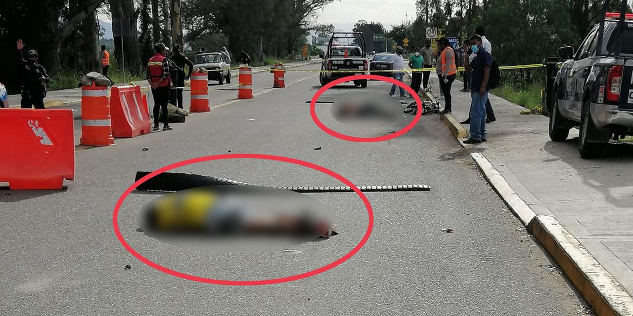 Ciclistas mueren arrollados en la carretera federal 190 | El Imparcial de Oaxaca